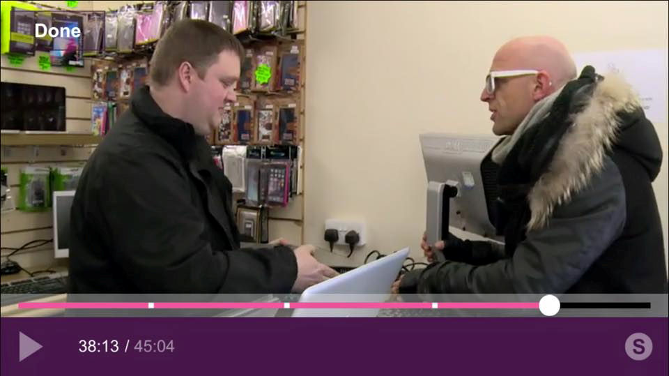 inside our shop on the gadget show